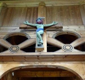 Kreuz Altarraum Heddal Stabkirche