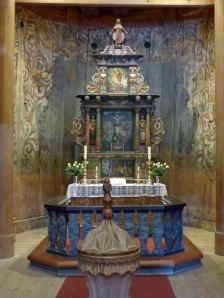 Altar Heddal Stabkirche