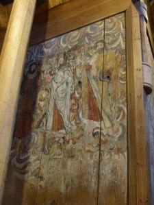 Alte Wandgemälde, Hedda Stavkirke
