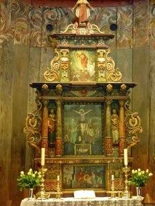 Altar der Heddal Stavkirke