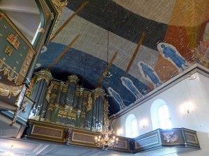Osloer Domkirke Orgelempore