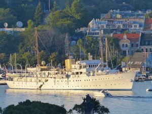 """Kønigliche Yacht """"Norge"""""""
