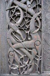 Detail Urnes Stavkirke