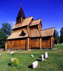Weltkulturerbe der UNESCO: Urnes Stavkirke.