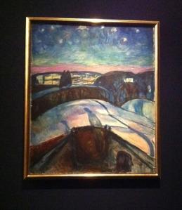 Munchs Sternennacht ....