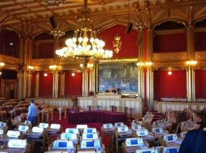 großer Sitzungssaal im Stortinget 3