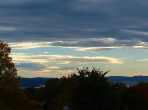 Herbstliche Beleuchtung