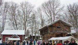 ... noch mehr alte Stallungen aus ganz Norwegen ...