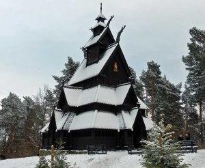 ... Stabkirche von Gol