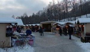 Der Julemarked macht nur einen kleinen Teil des ganzen Areals aus.