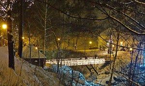 Lichter gibt es hier im Winter gaaannnzz viele...