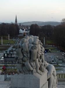 Der Park ist sein Lebenswerk und eine der Touristenattraktionen von Oslo