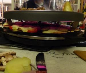 Leckeres Raclette an Silvester...