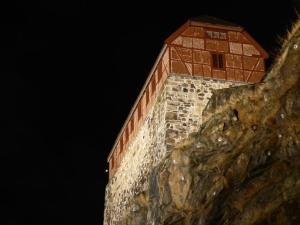 Akershus Festung in der Winternacht