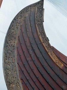 Nachbau des Vikingerschiffs...