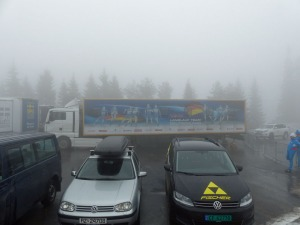 Vorbereitung auf den Langlauf-Weltcup.