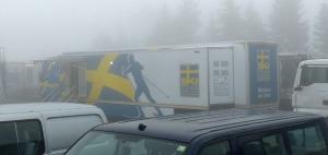 Die Mannschaften sind bereits zum trainieren angereist. Schweden, ...