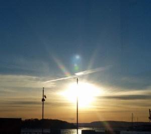 Und dann kam im März tatsächlich mal die Sonne zum Vorschein...