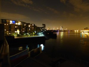 andere Blickrichtung (Westen/London Innenstadt)