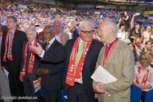 Kofi Annan und Frank-Walter Steinmeier