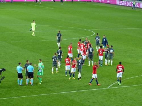 und dann war es vorbei: 3:0 für Deutschland. Gelungener Beginn der WM Quali