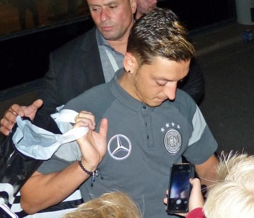Weltmeister Mesut Özil