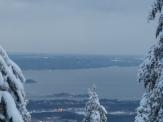 Winterlicher Oslofjord (Blick nach Nessodden)