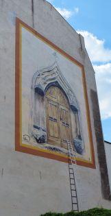 Häuserkunst in Wittenberg