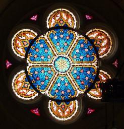 Fensterkunst in der Schlosskirche
