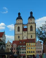 Stadtkirche von Wittenberg am Marktplatz