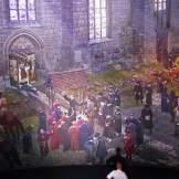 2 Ausschnitte aus dem Panorama vom Künstler Asisi: Luther predigt gegen den Ablass-Handel