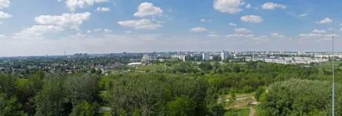 Panorama von der IGA über Marzahn