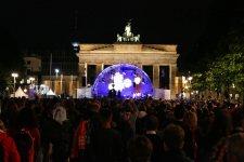 Abendsegen vor dem Brandenburger Tor