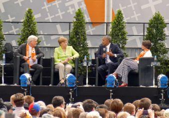 Präsident Barak Obama mit
